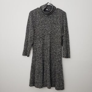AEO Cowl Neck Long Sleeve Midi Dress